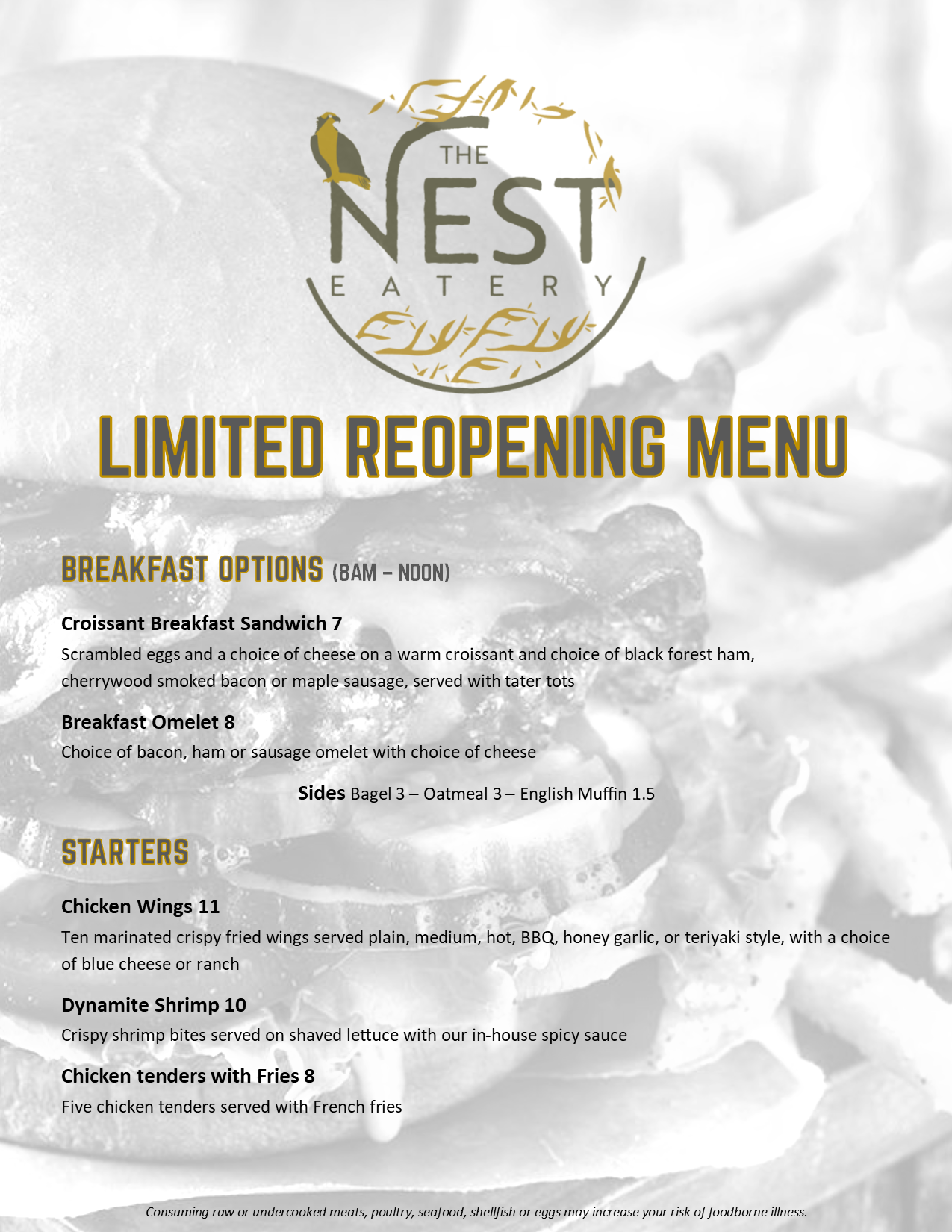 The Nest Temp Menu 050220 Page 1